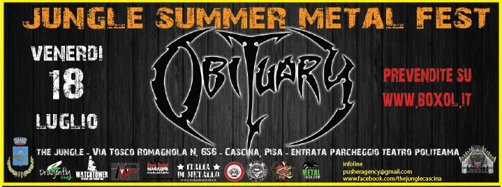 Concorso «OBITUARY»: partecipa e vinci con MetalWave.it
