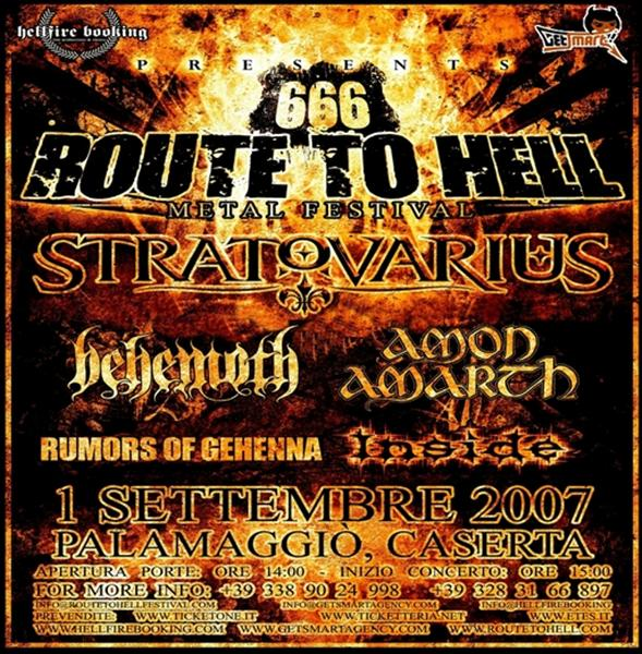 Route to Hell 666 | MetalWave.it Live Reports