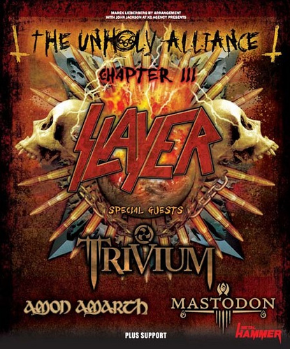 The Unholy Alliance Chapter III | MetalWave.it Live Reports