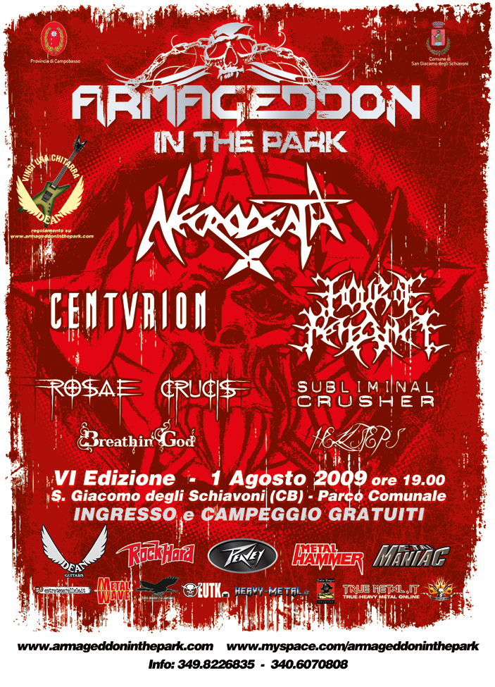 Armageddon In The Park 2009 | MetalWave.it Live Reports