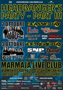 Headbanger's Party III | MetalWave.it Live Reports