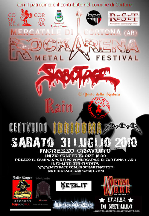 Rock Arena Metal Festival | MetalWave.it Live Reports