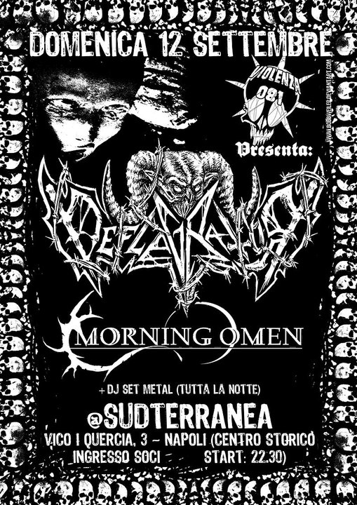 MetalWave Live-Report ::: Deflagrator + Morning Omen
