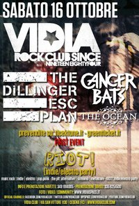 MetalWave Live-Report ::: The Dillinger Escape Plan + Cancer Bats + The Ocean