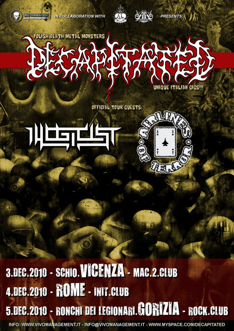 MetalWave Live-Report ::: Decapitated + Airlines Of Terror + Buffalo Grillz