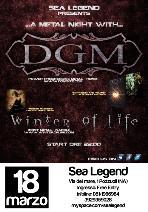 MetalWave Live-Report ::: DGM + Winter Of Life