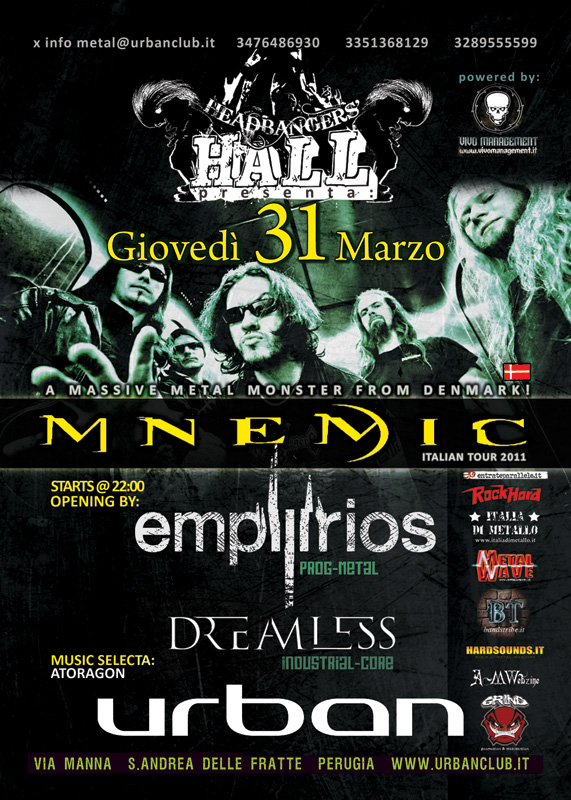 MetalWave Live-Report ::: Mnemic + Empyrios + Dreamless