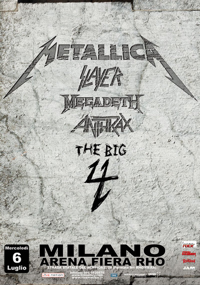 The Big 4 | MetalWave.it Live Reports