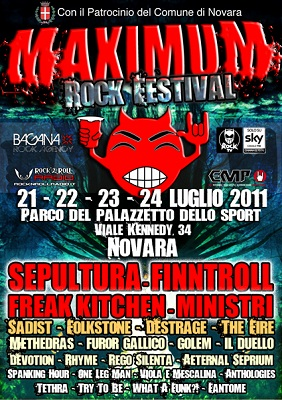 Maximum Rock Festival | MetalWave.it Live Reports