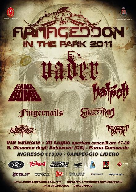 Armageddon In The Park 2011 | MetalWave.it Live Reports