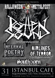 MetalWave Live-Report ::: Rotten Sound + Infernal Poetry + Airlines of Terror + Southborn