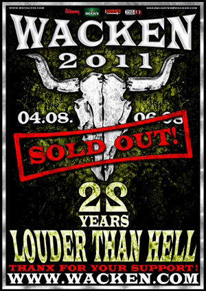 Wacken Open Air 2011 | MetalWave.it Live Reports