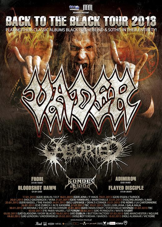 Back To Black Tour 2013 | MetalWave.it Live Reports
