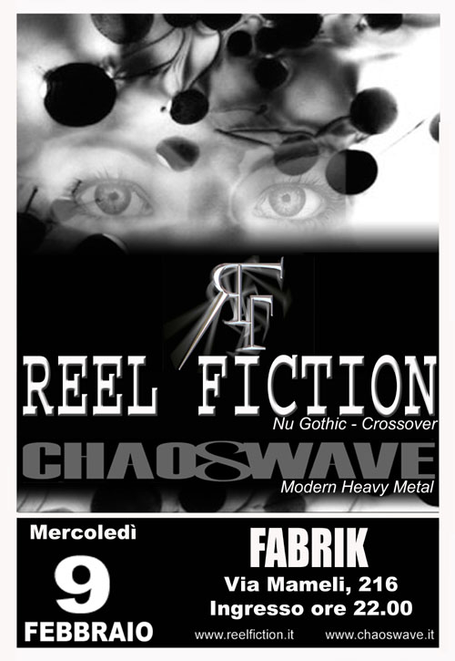 MetalWave Live-Report ::: Chaoswave + Reel Fiction