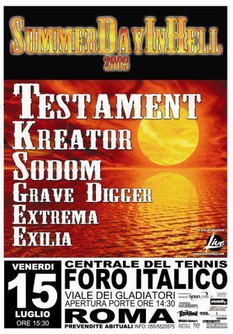 Summer Day In Hell 2005 | MetalWave.it Live Reports