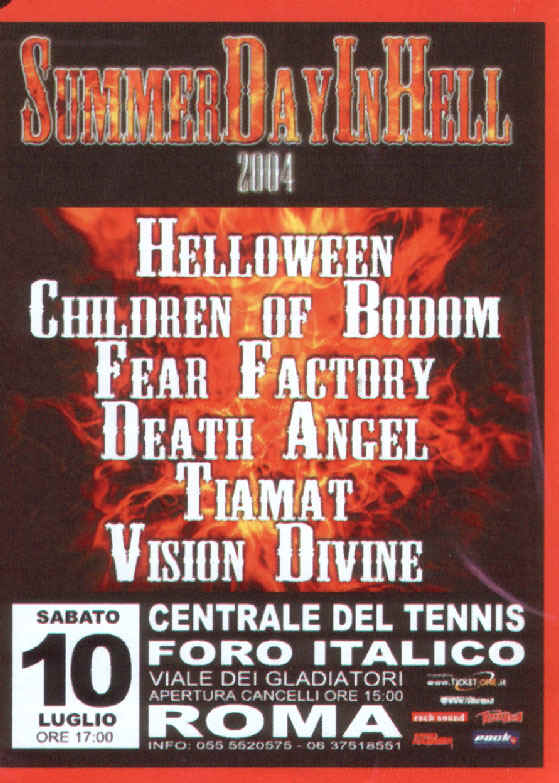 Summer Day In Hell 2004 | MetalWave.it Live Reports