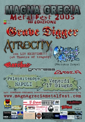 Magna Grecia Metal Fest 2005 | MetalWave.it Live Reports