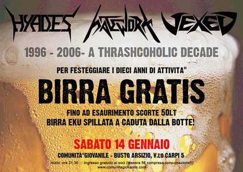 A ThrashAlcoholic Decade | MetalWave.it Live Reports