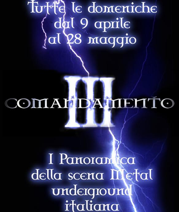 III Comandamento | MetalWave.it Live Reports