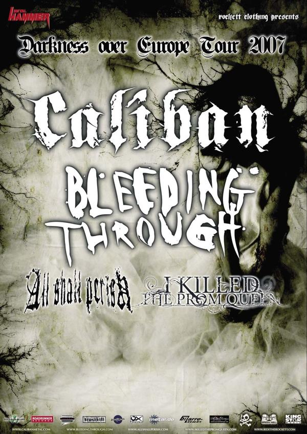 MetalWave Live-Report ::: Caliban + Bleeding Through + All Shall Perish + I Kill The Prom Queen