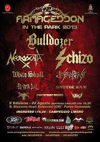 MetalWave Live-Report ::: «Armageddon in the Park 2013»