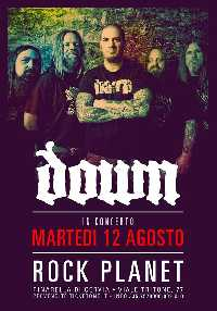 MetalWave Live-Report ::: « DOWN IN CONCERTO (with Phil Anselmo)»