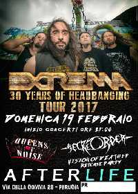 "MetalWave Live-Report ::: «EXTREMA ""30 Years Headbanging tour 2017""»"