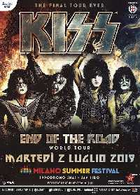KISS (End of the Road World Tour) | MetalWave.it Live Reports