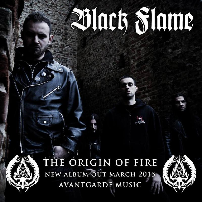 "BLACK FLAME: a marzo il nuovo ""The Origin Of Fire"""