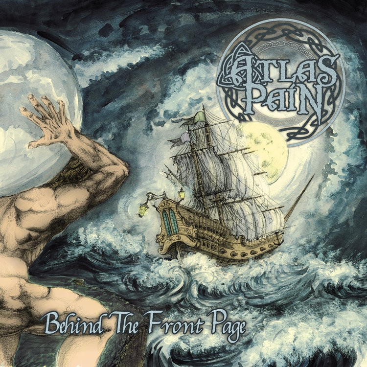 "ATLAS PAIN: tracklist e cover del nuovo Ep ""Behind The Front Page"""