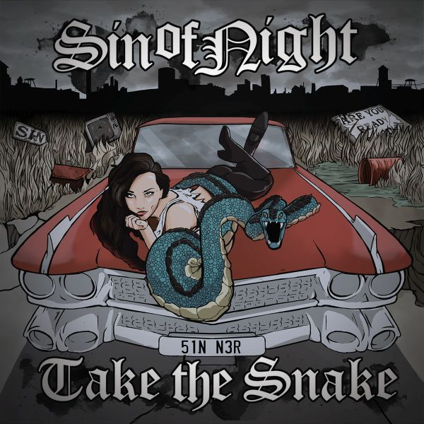 "SIN OF NIGHT: in arrivo il debut album ""Take The Snake"""