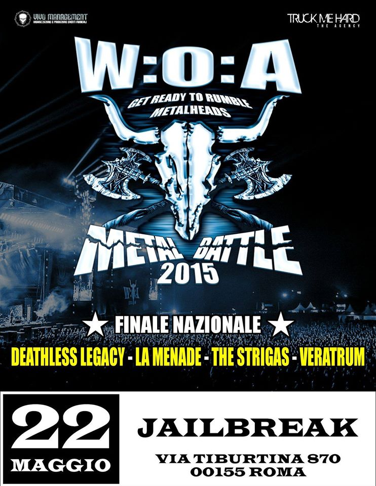 METAL BATTLE ITALY 2015: le band finaliste