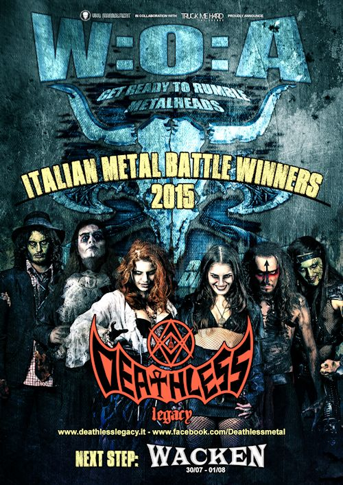 METAL BATTLE ITALY 2015: vincono i DEATHLESS LEGACY