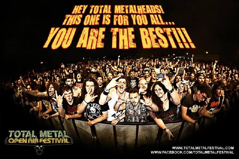 "TOTAL METAL FESTIVAL: in ""stand-by"" per il 2015"