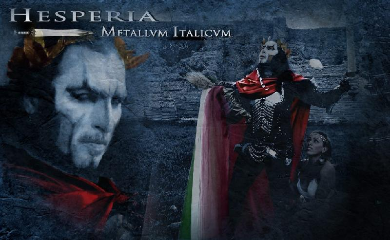 "HESPERIA: secondo video dall'album ""Metallvm Italicvm"""