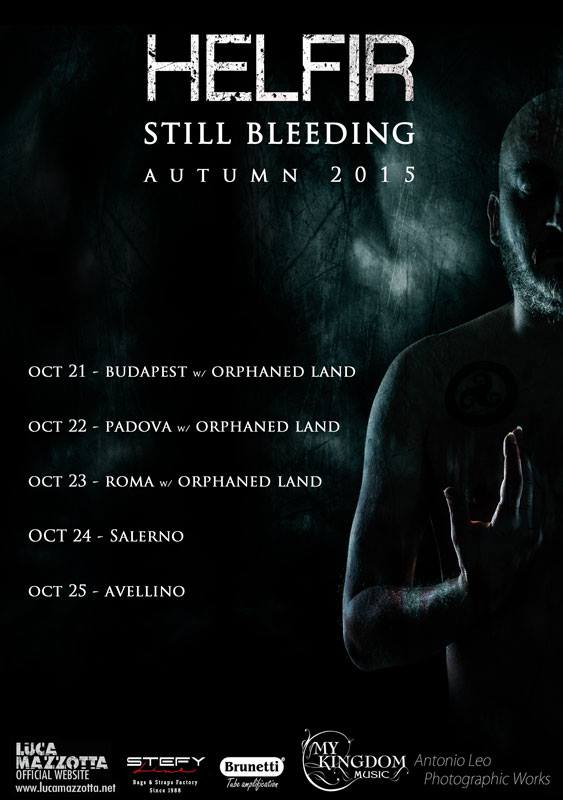 HELFIR: in tour con gli ORPHANED LAND