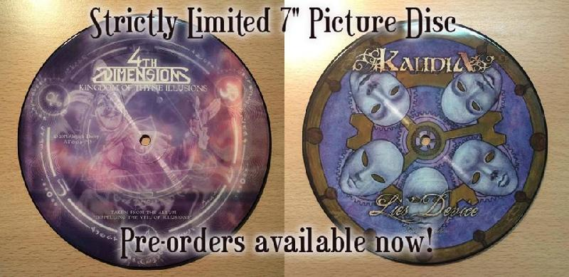KALIDIA e 4TH DIMENSION: split in picture disc