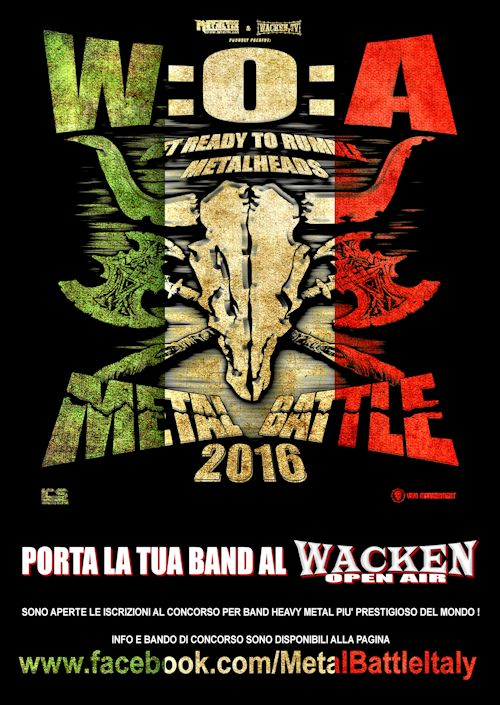 METAL BATTLE ITALY 2016: le band qualificate