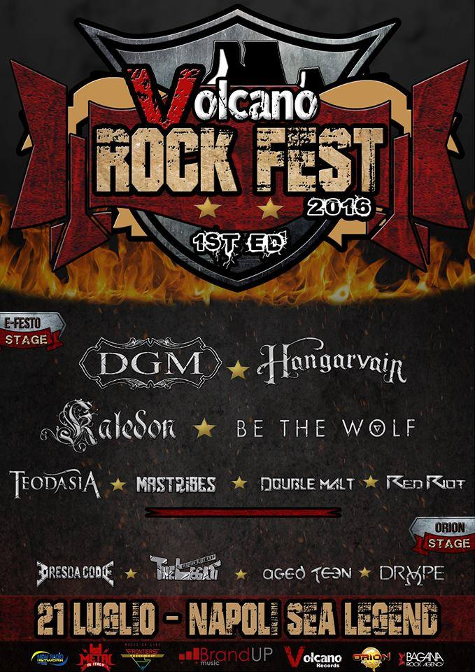 VOLCANO ROCK FEST: bill completato e l'estate diventa Hard'N'Heavy