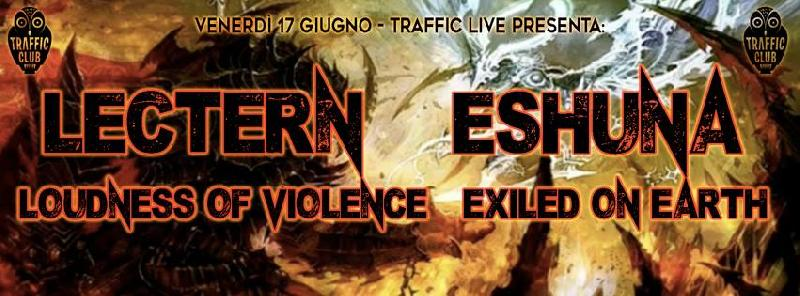 LOUDNESS OF VIOLENCE: di nuovo On The Road