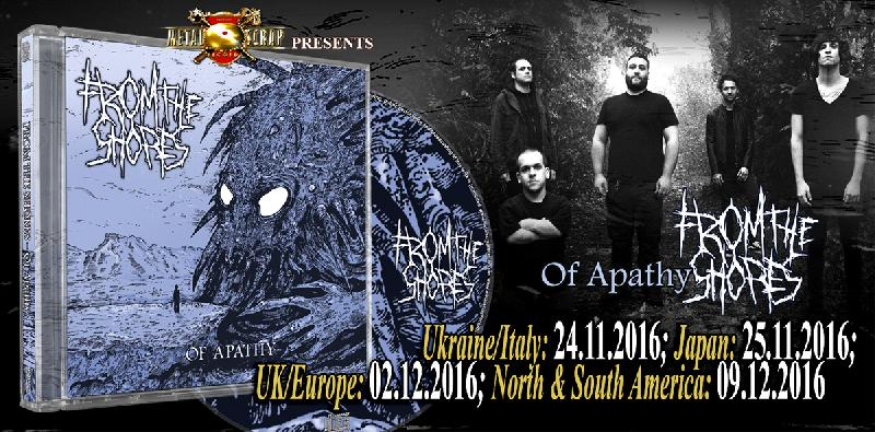"FROM THE SHORES: ascolta la nuova ""To Rest In Arms Of Perfection"""