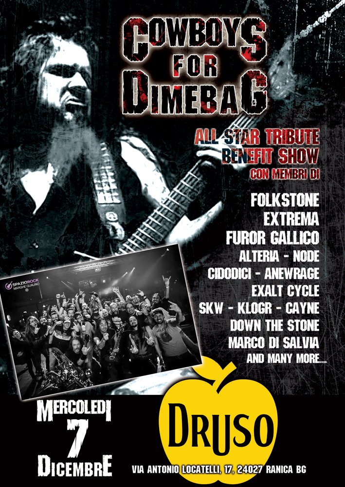COWBOYS for DIMEBAG: All-Star Tribute BENEFIT SHOW