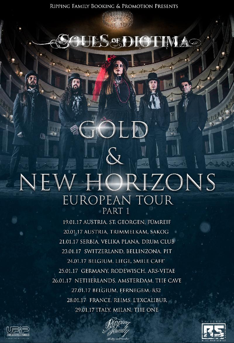 "SOULS OF DIOTIMA: ""Gold & New Horizons - European Tour PT 1"""