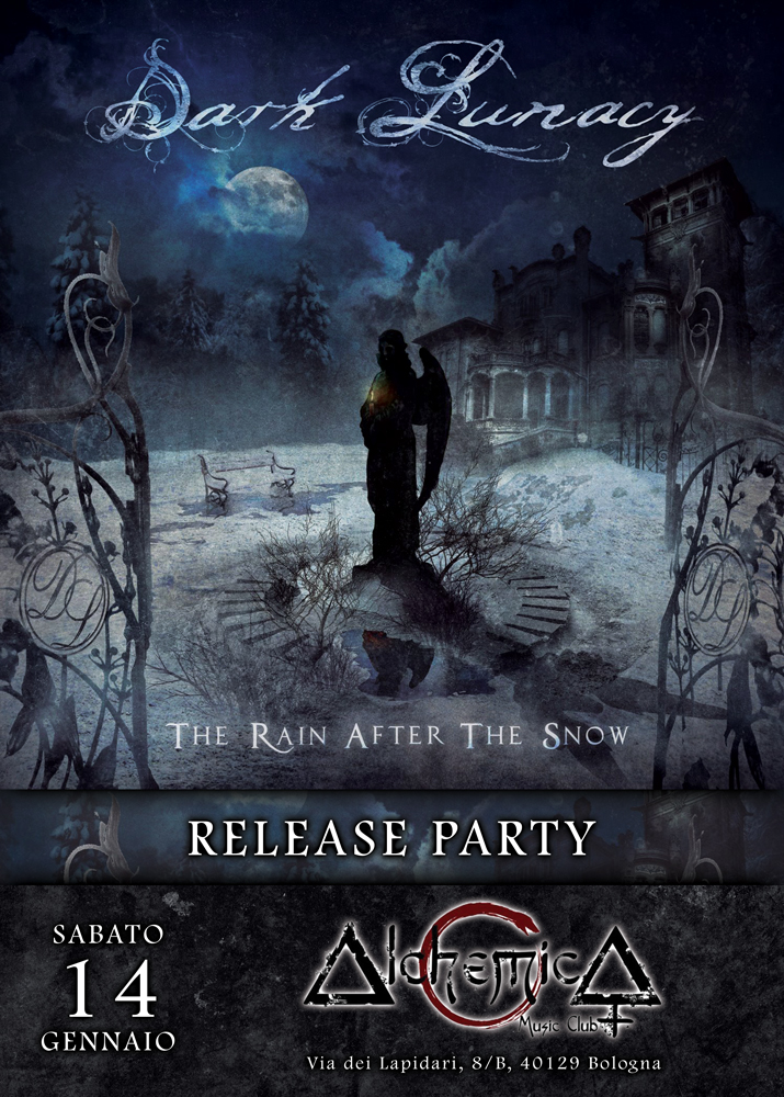 "DARK LUNACY: il Release Party ""The Rain After The Snow"" a Bologna"