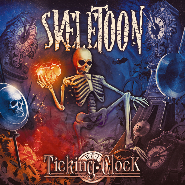 "SKELETOON: il nuovo album ""Ticking Clock"""