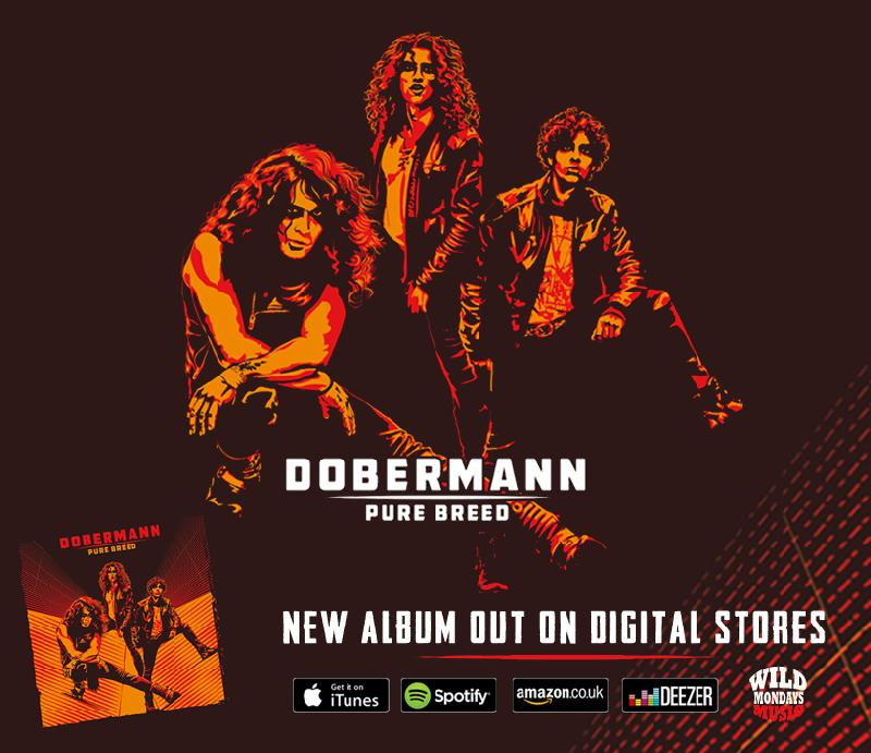 "DOBERMANN: disponibile il nuovo album ""Pure Breed"""