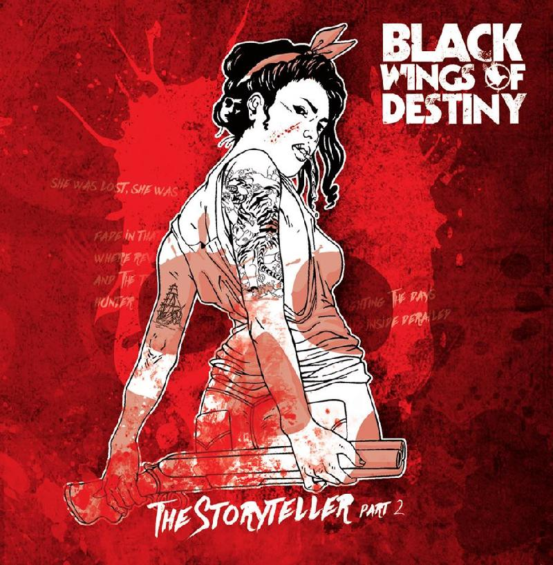 "BLACK WINGS OF DESTINY: esce il nuovo album ""The Storyteller, Part Two"""