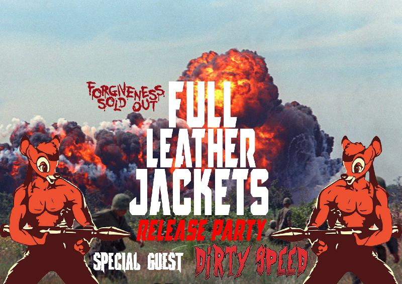 FULL LEATHER JACKETS: nuovo videoclip e release party