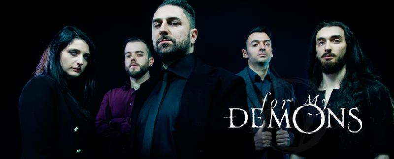 FOR MY DEMONS: debut album a maggio