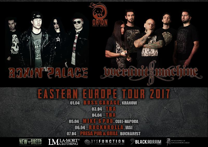 ROXIN' PALACE: mini-tour europeo